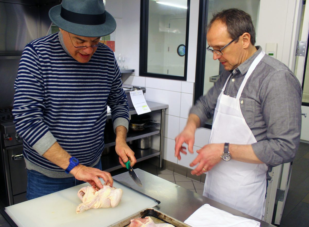 Plating with the Pros: The Bittman + Telepan CookCamp