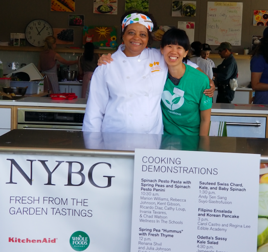 Green for Kids and Cook for Kids in the Bronx