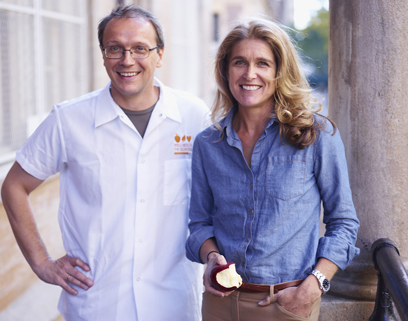 Portrait of Bill Telepan & Nancy Easton. A111017 JWM Magazine