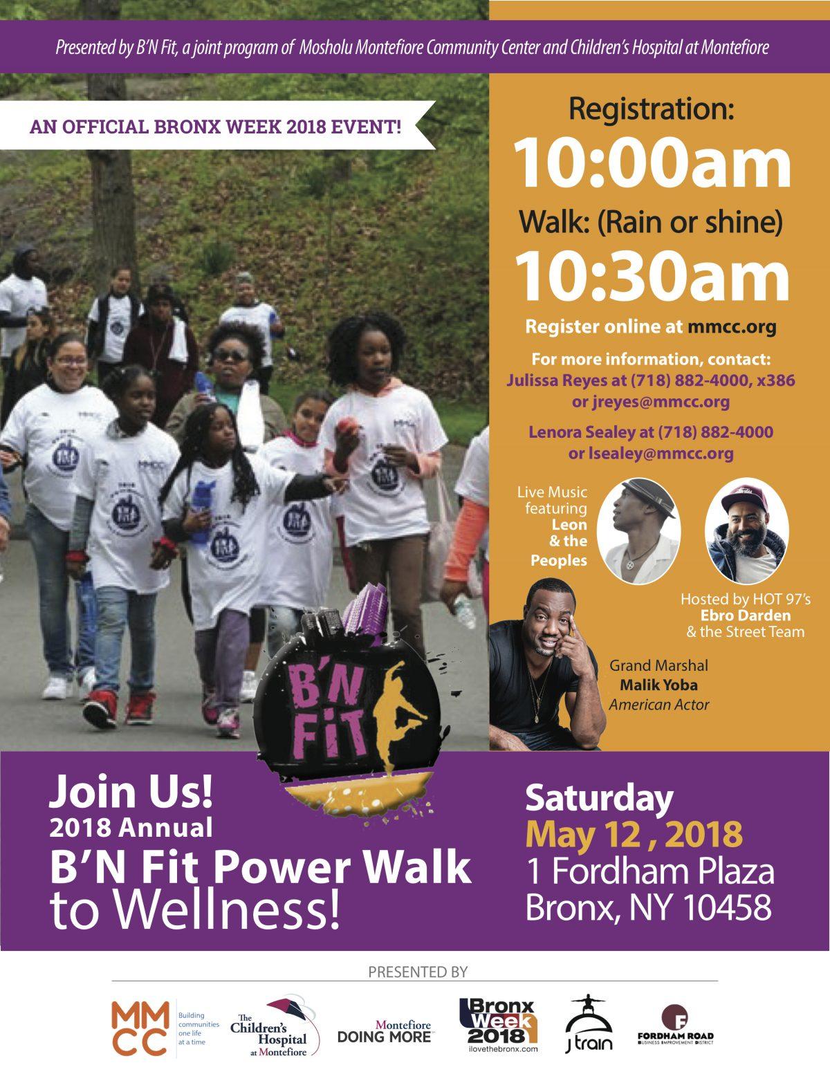 B'N Fit Power Walk to Wellness